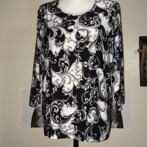 Women's Printed Top JM Collection